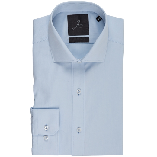 Slim Fit Fine Cotton Dress Shirt-essentials-Fifth Avenue Menswear