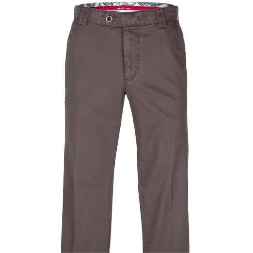 Roma Luxury Soft Stretch Cotton Chino-essentials-Fifth Avenue Menswear