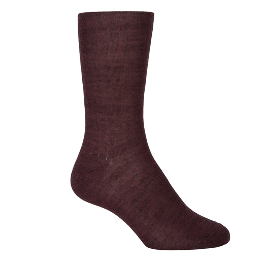 Luxury Primo Rib Fine Wool Socks-work-Fifth Avenue Menswear