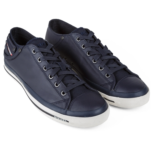 Exposure Low Leather Sneakers-essentials-Fifth Avenue Menswear
