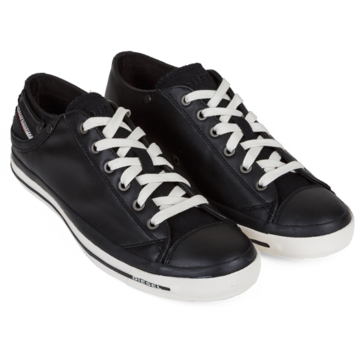 Exposure Low Leather Sneakers-shoes & boots-Fifth Avenue Menswear