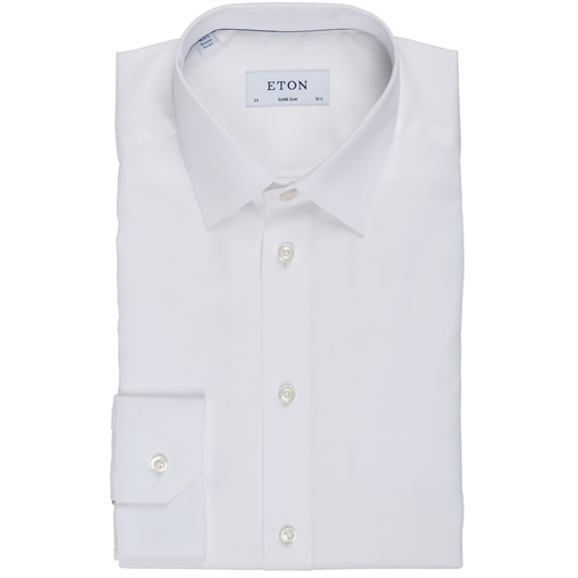 Super Slim Luxury Cotton Dress Shirt-shirts-Fifth Avenue Menswear