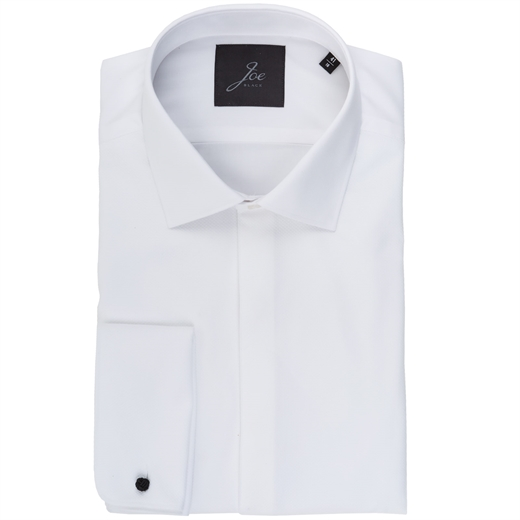 Royale Double Cuff Formal Shirt-shirts-Fifth Avenue Menswear