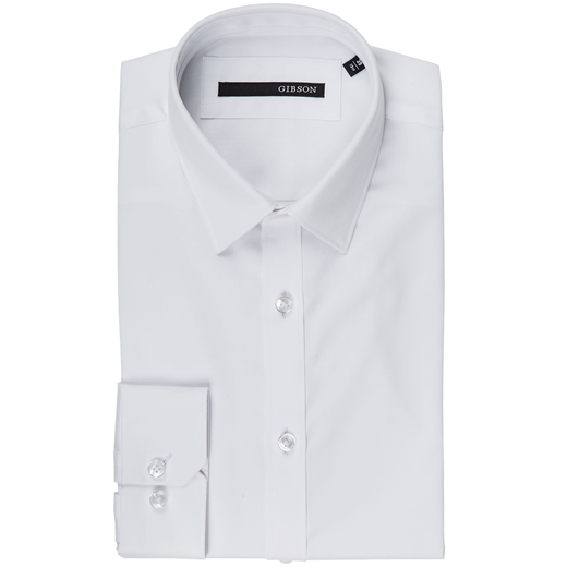 Fierce Slim Fitting Dress Shirt-shirts-Fifth Avenue Menswear