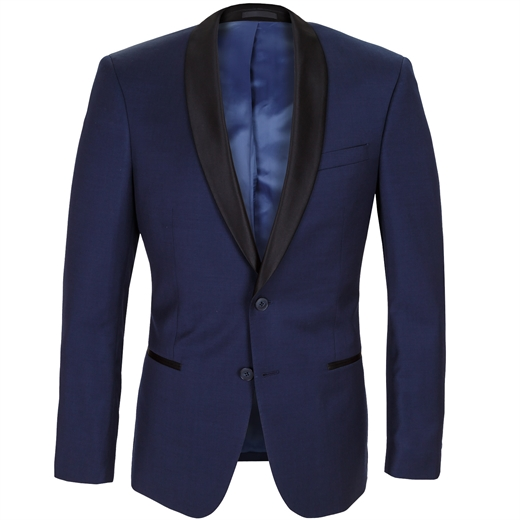 Spectre Navy Blue Tuxedo Jacket-wedding-Fifth Avenue Menswear