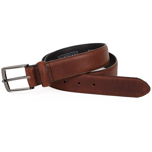 Whiskey Brown Casual Belt-accessories-Fifth Avenue Menswear