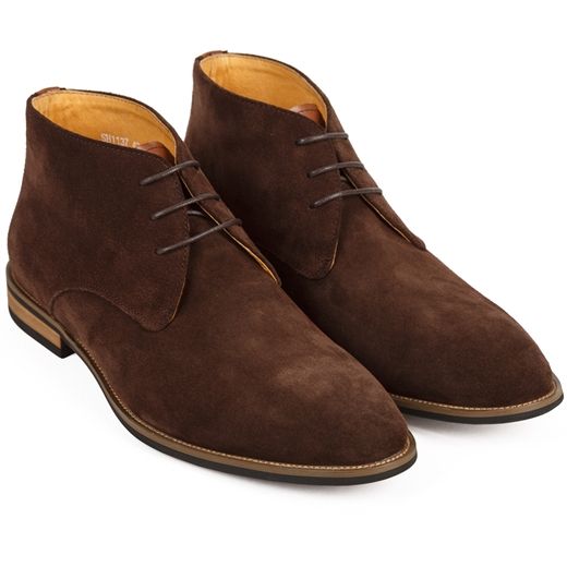 Finn Suede Desert Boots-shoes & boots-Fifth Avenue Menswear