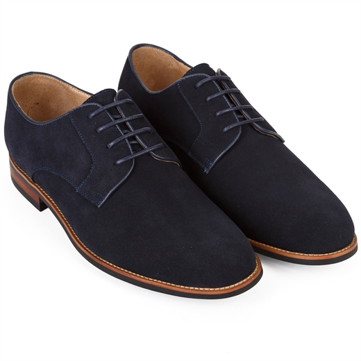 Tommy Suede Derby Shoe-shoes & boots-Fifth Avenue Menswear