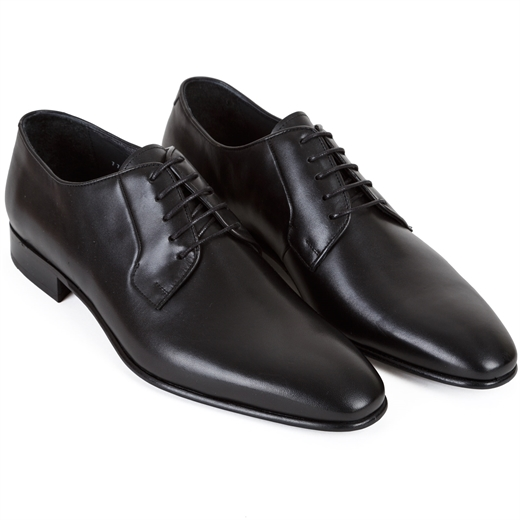 Ellis Derby Leather Dress Shoes-essentials-Fifth Avenue Menswear