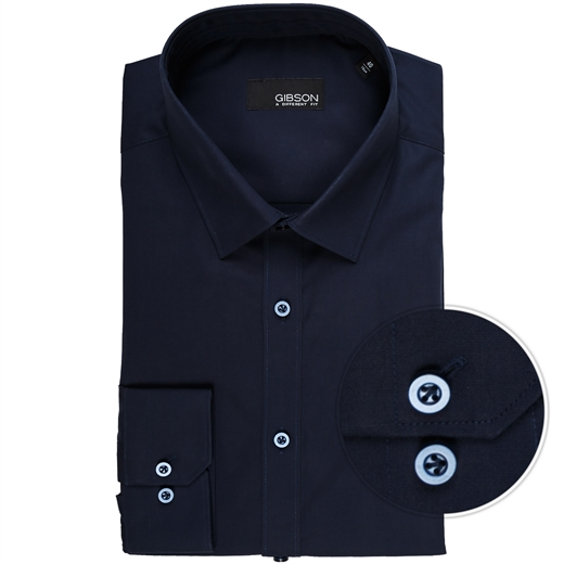 Fierce Stretch Cotton Dress Shirt-shirts-Fifth Avenue Menswear