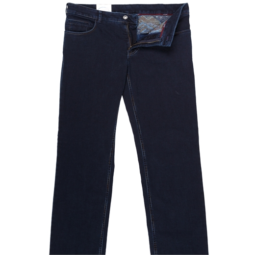 Arizona Luxury Multi-Colour Stitch Denim Jeans-essentials-Fifth Avenue Menswear