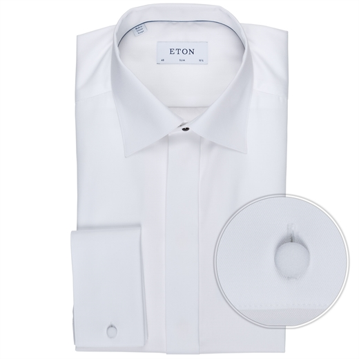Formal Slim Fit Luxury Cotton Dress Shirt-Fifth Avenue Menswear