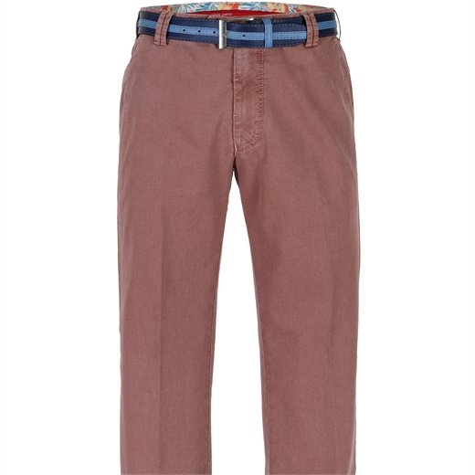 Bonn Texture Weave Stretch Cotton Chino-trousers-Fifth Avenue Menswear