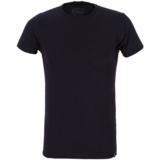 Slim Fit McQueen Slub Crew Neck T-Shirt-holiday-Fifth Avenue Menswear