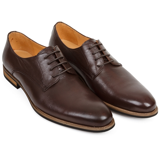 Elliot Soft Leather Derby Shoe-shoes & boots-Fifth Avenue Menswear