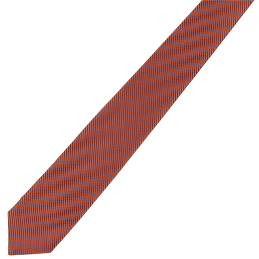 Micro Check Pattern Tie-Fifth Avenue Menswear