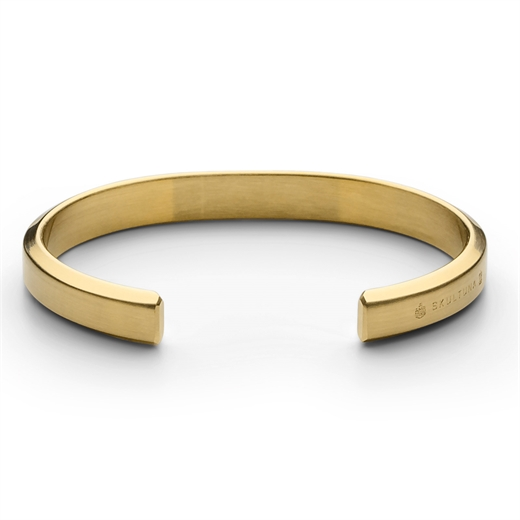 Matte Gold Icon Cuff-Fifth Avenue Menswear