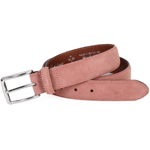 Nabucco Italian Suede Belt-gifts-Fifth Avenue Menswear