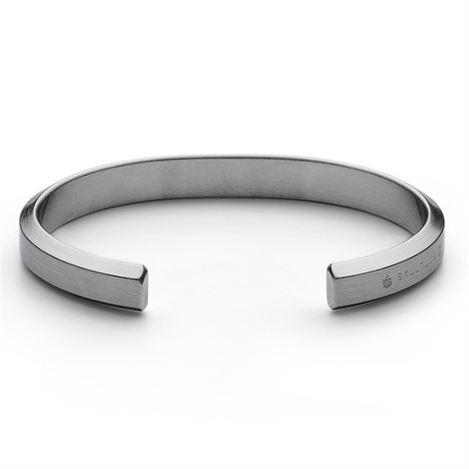 Matte Steel Icon Cuff-gifts-Fifth Avenue Menswear