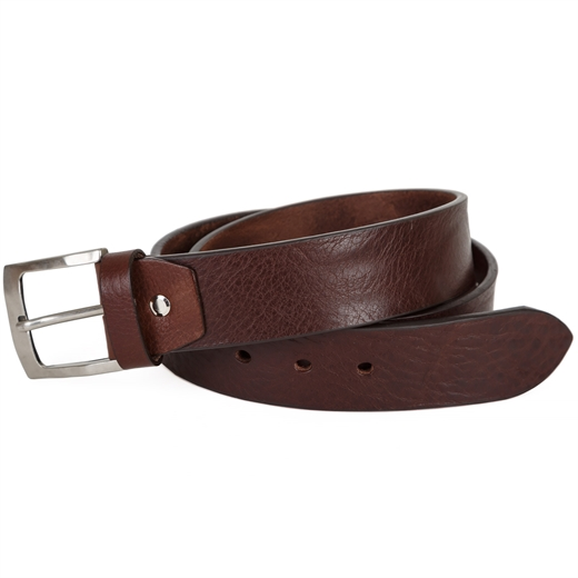 Wide Luxury Leather Jean Belt-essentials-Fifth Avenue Menswear