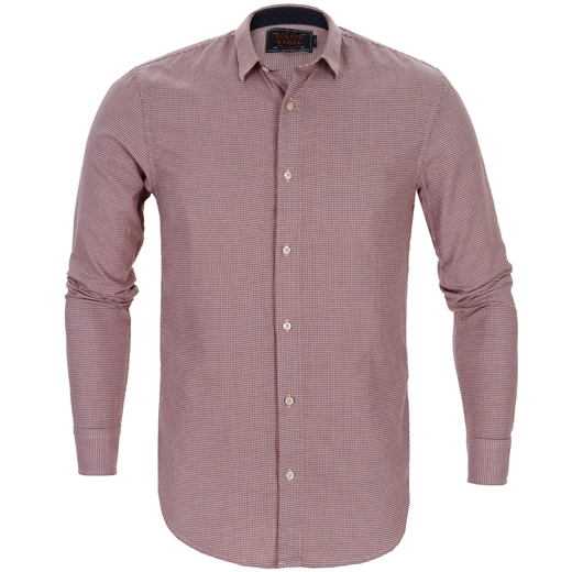 Geometric Weave Casual Shirt-shirts-Fifth Avenue Menswear