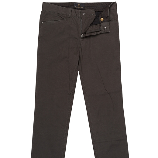 Danyon X-Pocket Stretch Bedford Cotton Casual Trousers-trousers-Fifth Avenue Menswear