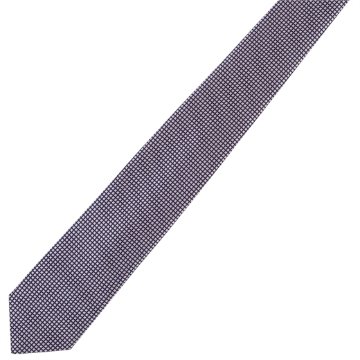 Micro Grid Weave Tie-wedding-Fifth Avenue Menswear