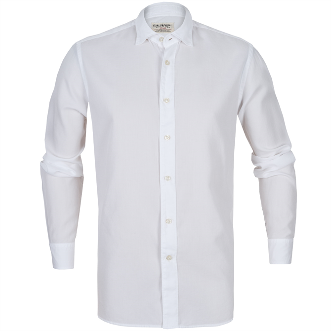 Bergamo Textured Weave Soft Cotton Shirt