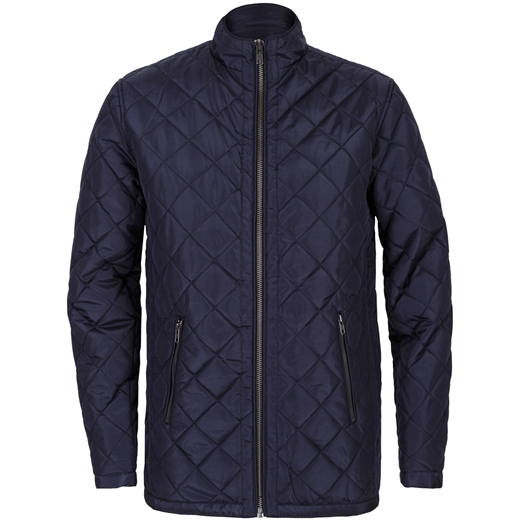Tall Fit Brandon Quilted Casual Jacket-back in stock-Fifth Avenue Menswear