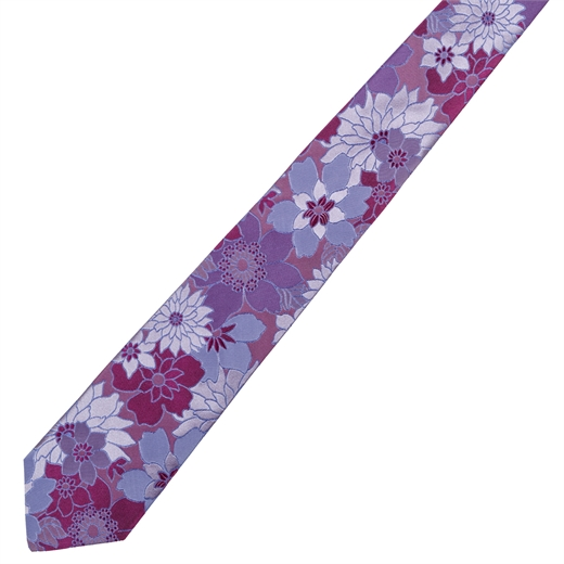 Limited Edition Milan Floral Silk Tie-parisian 1919-Fifth Avenue Menswear