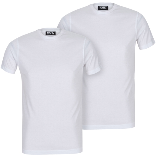 Luxury Cotton 2 Pack Crew Neck T-Shirt-essentials-Fifth Avenue Menswear
