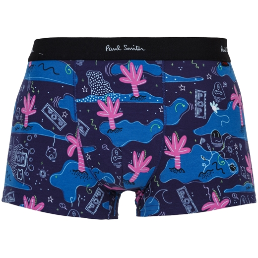 POP' Island Print Low Rise Trunk-gifts-Fifth Avenue Menswear