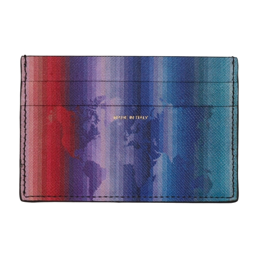 Rainbow Map Credit Card Holder-new online-Fifth Avenue Menswear