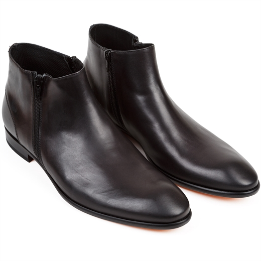 Gareth2 Anticato Double Zip Boots-essentials-Fifth Avenue Menswear
