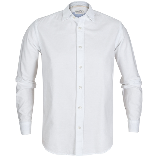 Roma Oxford Cotton Casual Shirt-new online-Fifth Avenue Menswear