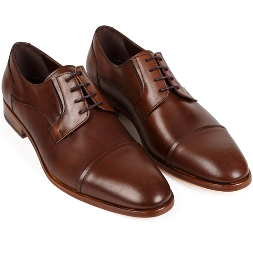 Victor Toecap Derby Dress Shoe-wedding-Fifth Avenue Menswear