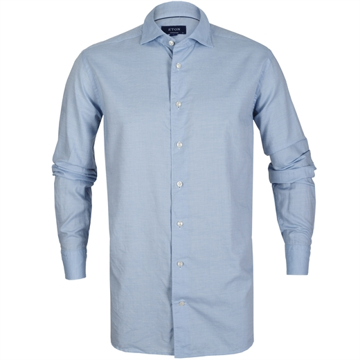 Contemporary Fit Luxury Cotton/Silk Casual Shirt-essentials-Fifth Avenue Menswear