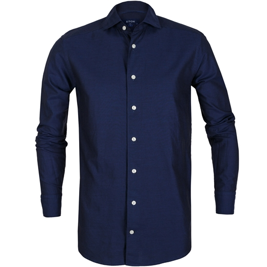 Slim Fit Luxury Cotton/Silk Casual Shirt-new online-Fifth Avenue Menswear