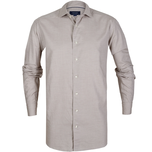 Contemporary Fit Luxury Cotton/Silk Casual Shirt-new online-Fifth Avenue Menswear