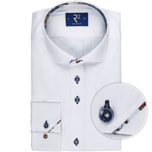 Luxury Cotton Twill Dress Shirt-wedding-Fifth Avenue Menswear