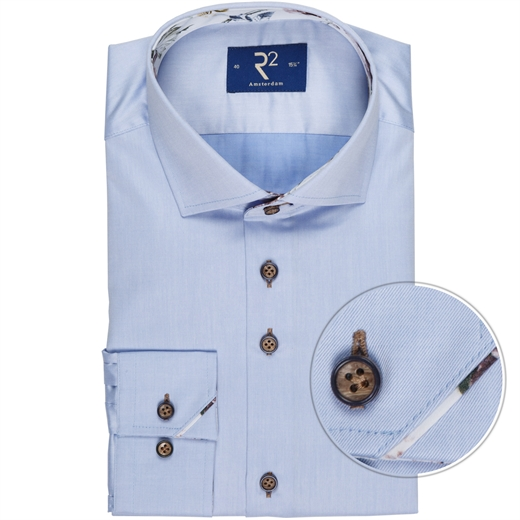 Luxury Cotton Twill Dress Shirt-new online-Fifth Avenue Menswear