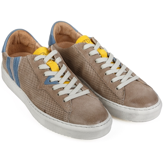 Tulun Luxury Punched Leather Sneakers-new online-Fifth Avenue Menswear