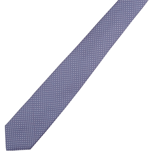 Micro Geometric Pattern Tie-new online-Fifth Avenue Menswear