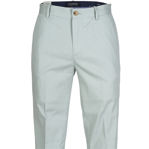 Stuart Light Weight Stretch Cotton Chino-trousers-Fifth Avenue Menswear