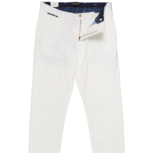 Warren Regular Fit Stretch Cotton Chino-on sale-Fifth Avenue Menswear