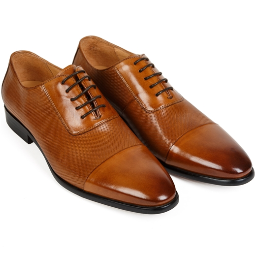 Peter Toecap Oxford Dress Shoes-new online-Fifth Avenue Menswear