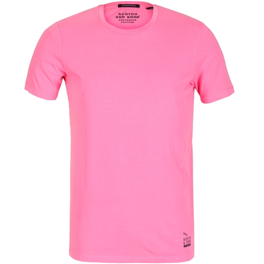 Slim Fit Plain Bright T-Shirt-holiday-Fifth Avenue Menswear