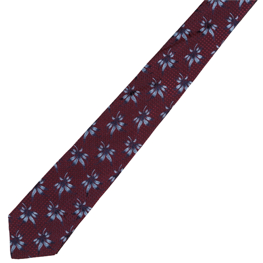 Limited Edition Seville Geometric & Floral Silk Tie-parisian 1919-Fifth Avenue Menswear