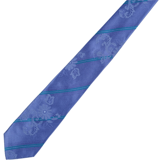 Limited Edition London Stripe Silk Tie-wedding-Fifth Avenue Menswear