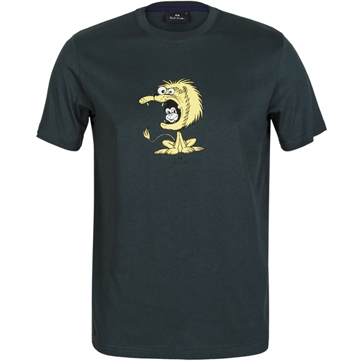 Lion Suit Monkey Print T-Shirt-new online-Fifth Avenue Menswear